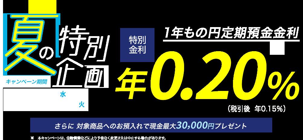 2020 金利 キャンペーン 定期 預金 定期預金 高金利比較+2021年5月のキャンペーン情報